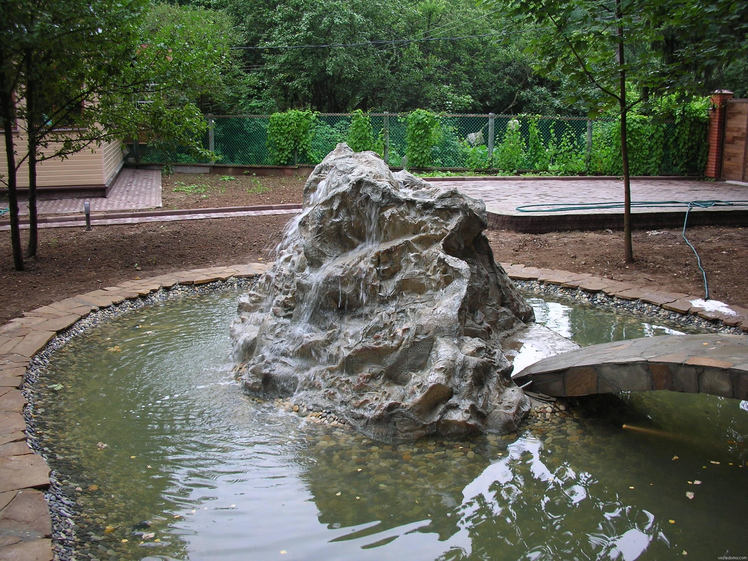 Создание искусственного водоема на
