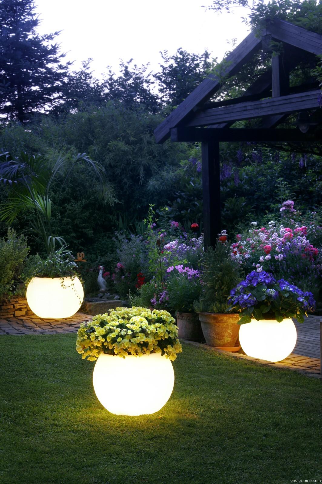 Освещение для загородного дома своими руками