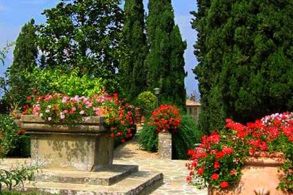 итальянский стиль сада