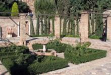 восточный стиль сада
