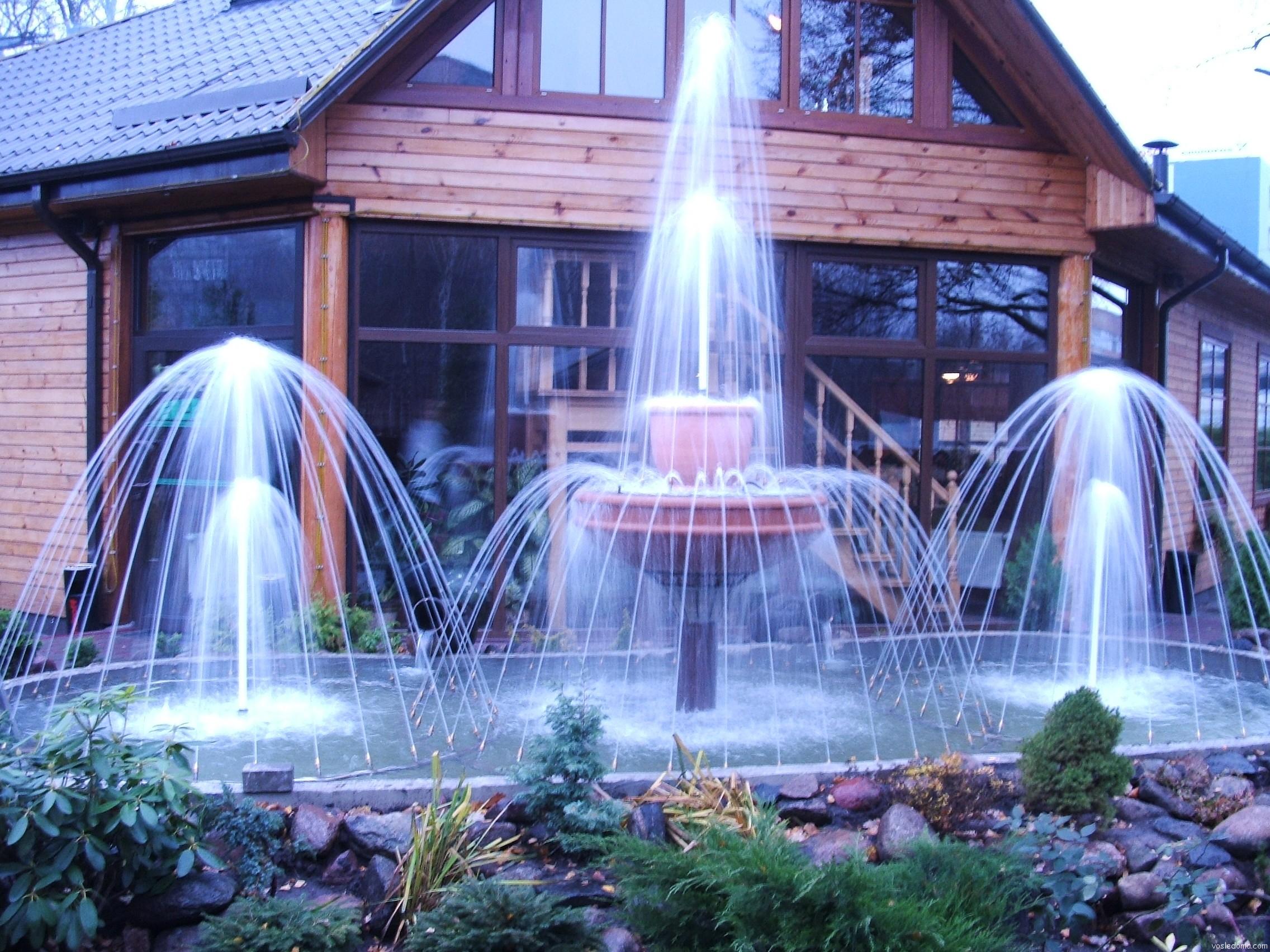 Красивый фонтан дома своими руками 85