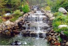 Ландшафтный дизайн на садовом участке: каскады