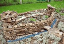 Ландшафтный дизайн: каменные ограды