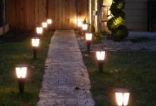 Вертикальные светильники