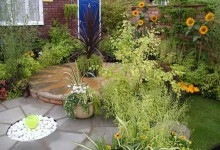 Примеры дизайна, цветочная выставка в Челси