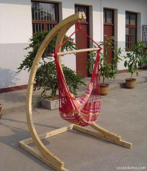Кресло-гамак со своим каркасом