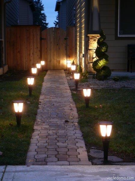 Светильники для улицы своими руками 85
