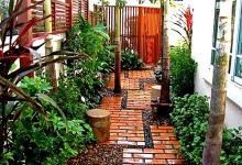 Фото садовых дорожек