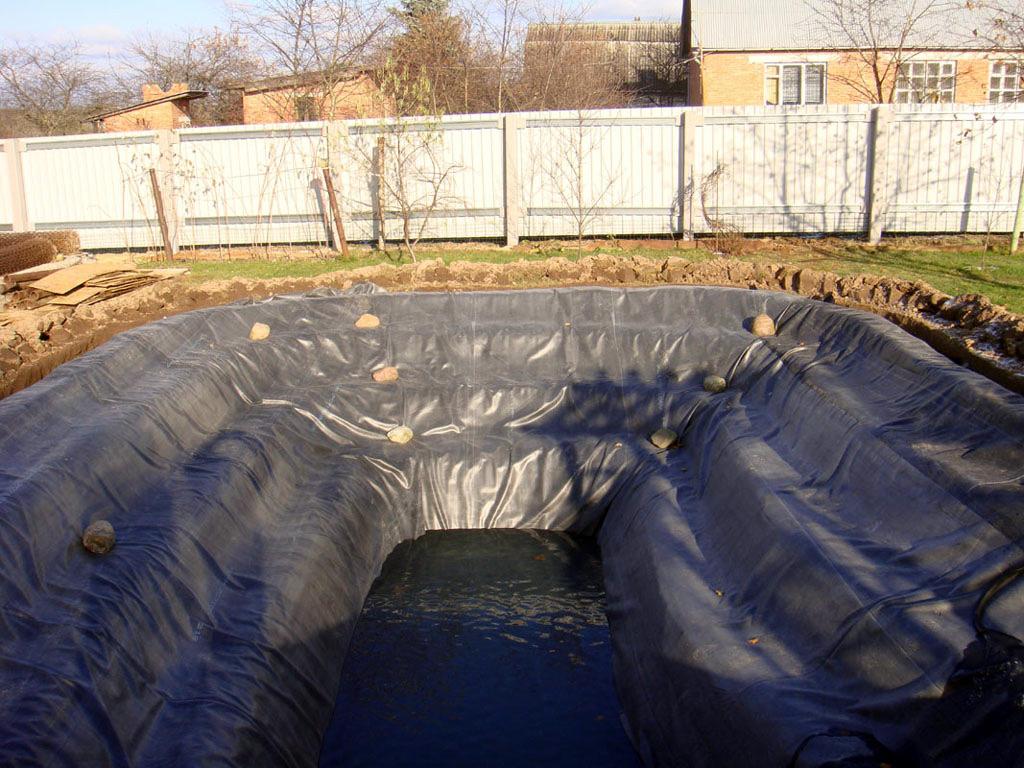 Гидроизоляция для прудов пвх холодная гидроизоляция жидкая резина цены