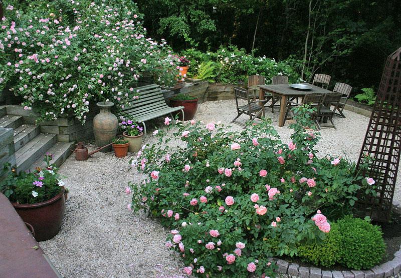 Интересный дизайн для сада
