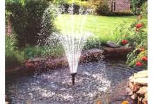 фонтан возле дома