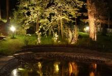 освещение участка, фото