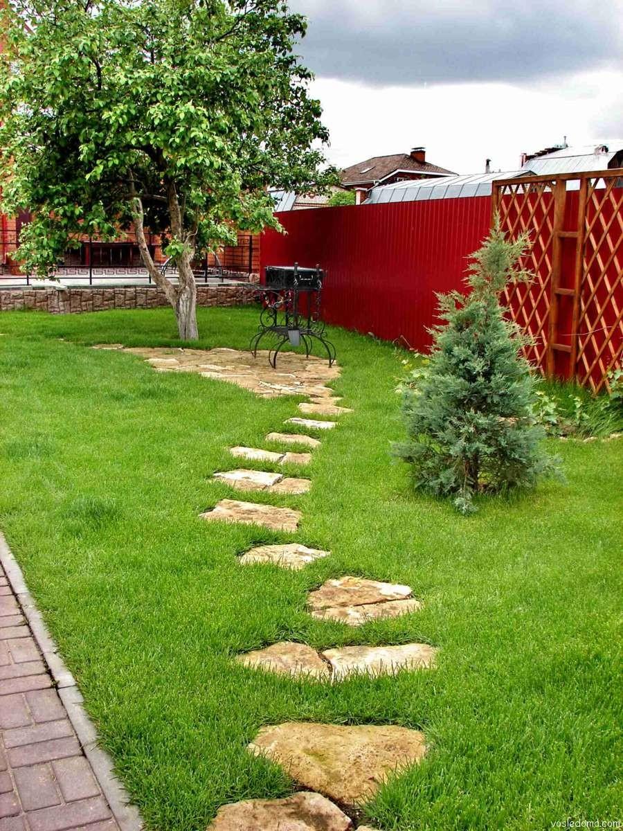 Пошаговые дорожки в ландшафтном дизайне