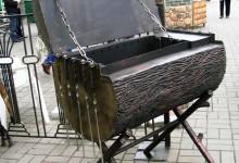 Кованый мангал