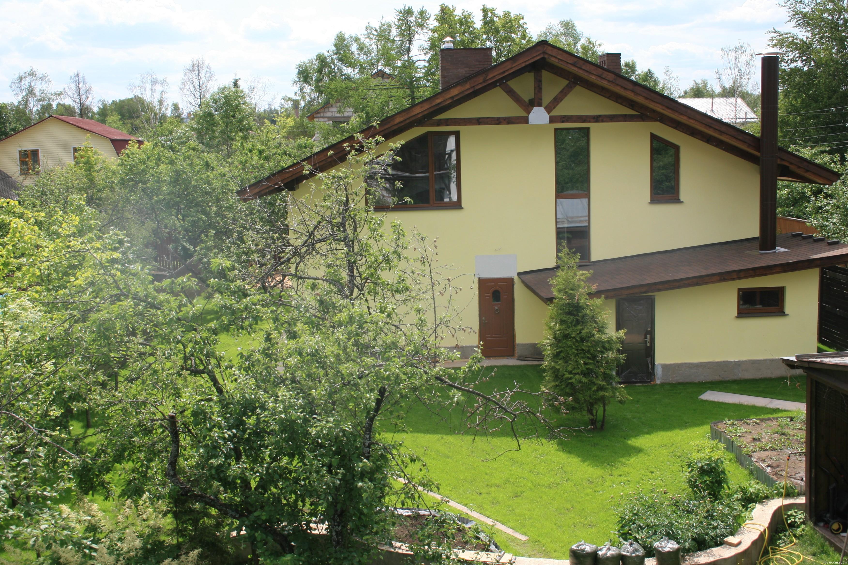 Дом с садовым участком фото