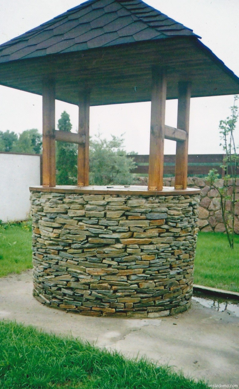 Камень на колодец своими руками 837