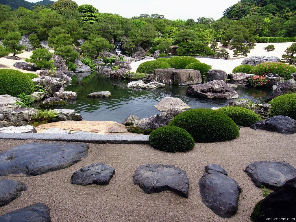 Японский ландшафтный дизайн фото