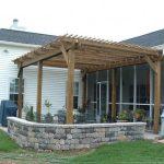 Строительство террасы на даче
