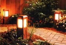 Светильники для сада