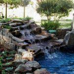 Создаем водный каскад на приусадебном участке или водопад для дачи своими руками