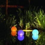 Декоративное освещение сада, 40 фото