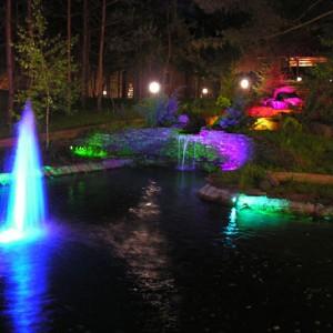 Игра воды и света