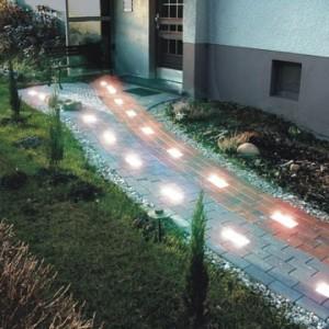 Освещение дорожки