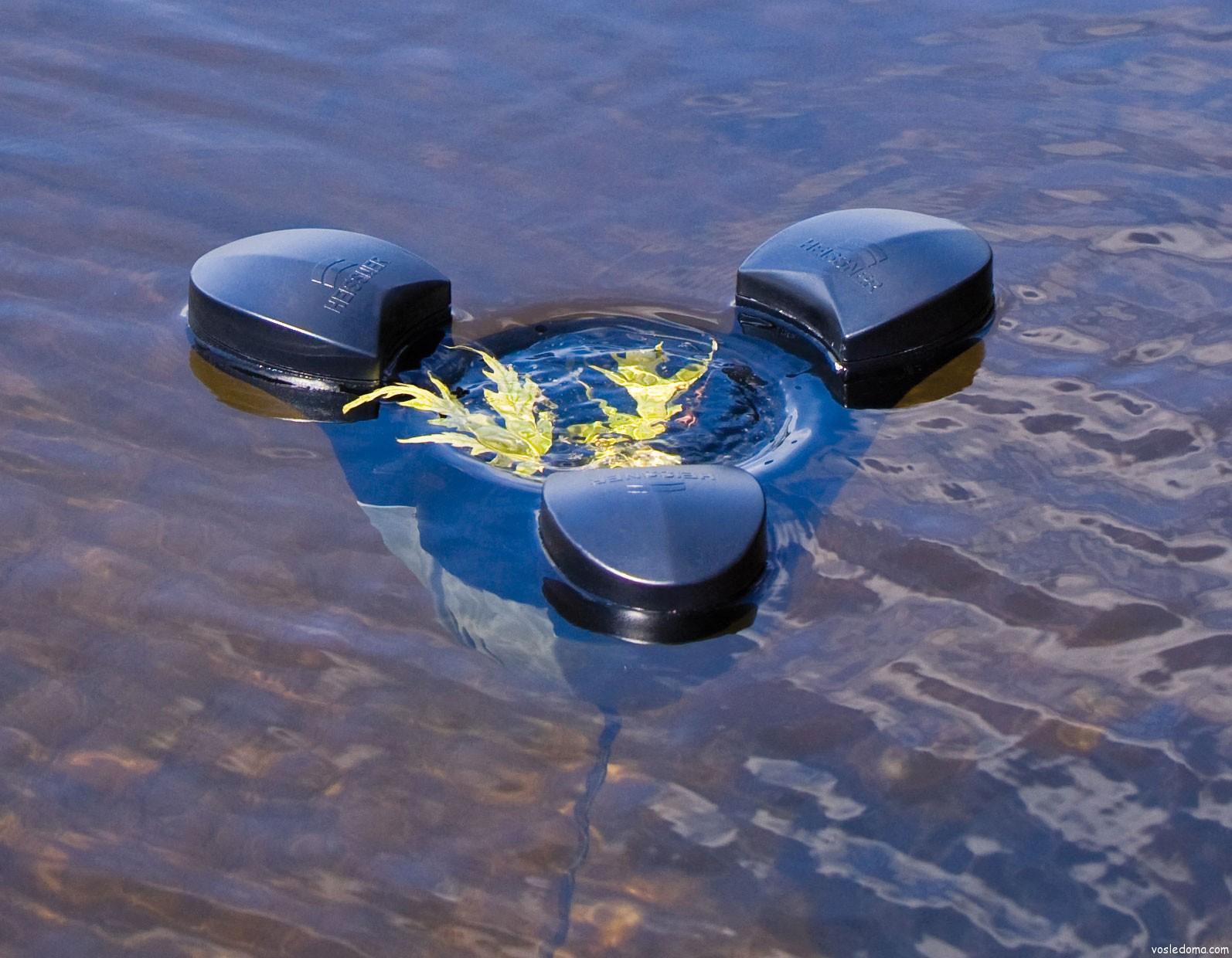 Как почистить водоем от ила своими руками насос8