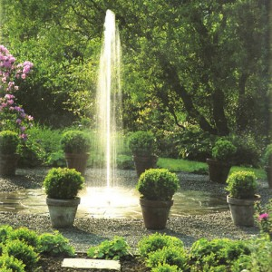 Домашний фонтан-гейзер