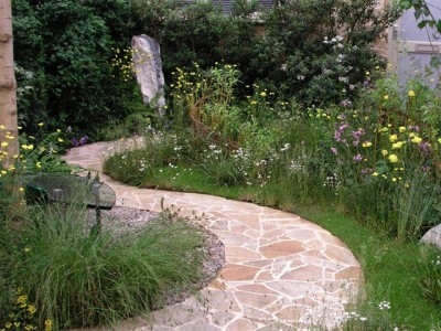 прогулочная садовая дорожка
