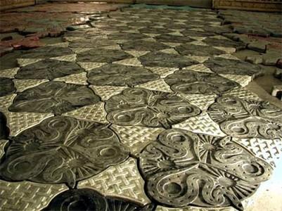 пример декоративной тротуарной плитки