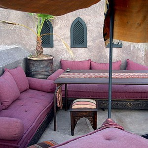 патио в стиле Марокко