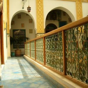 дворик в восточном стиле