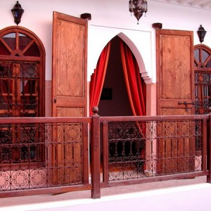 патио в мароккансом стиле