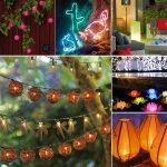 Освещения вашего сада или террасы, 33 фото творческих идей