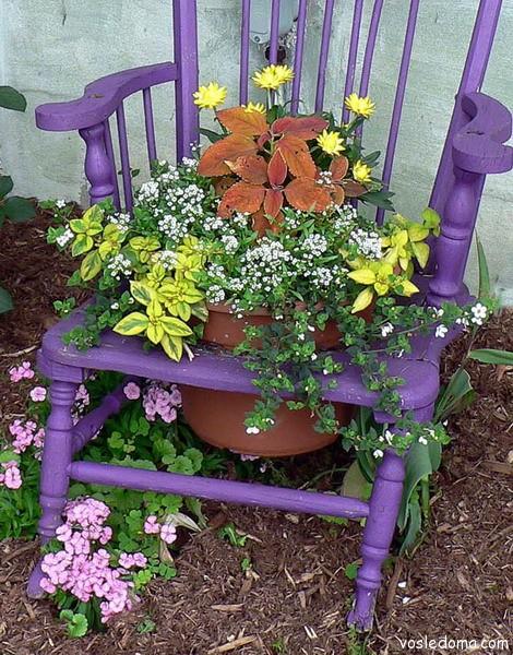 Сад цветами своими руками фото