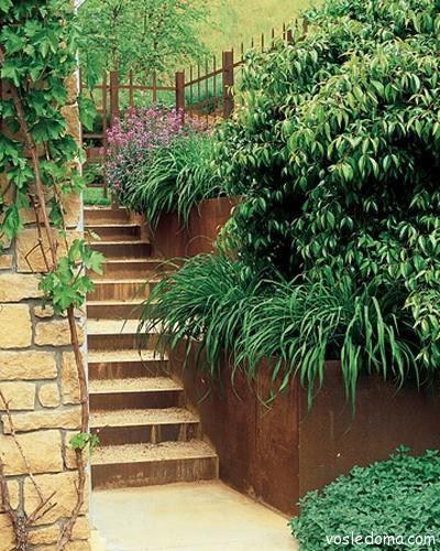 Симпатичная лестница наверх