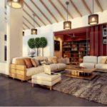 Дизайн интерьера квартир вне времени сочетаний и обустройство сюрпризов