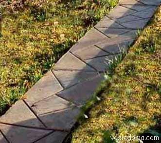 Материал для садовой дорожки: проблема выбора