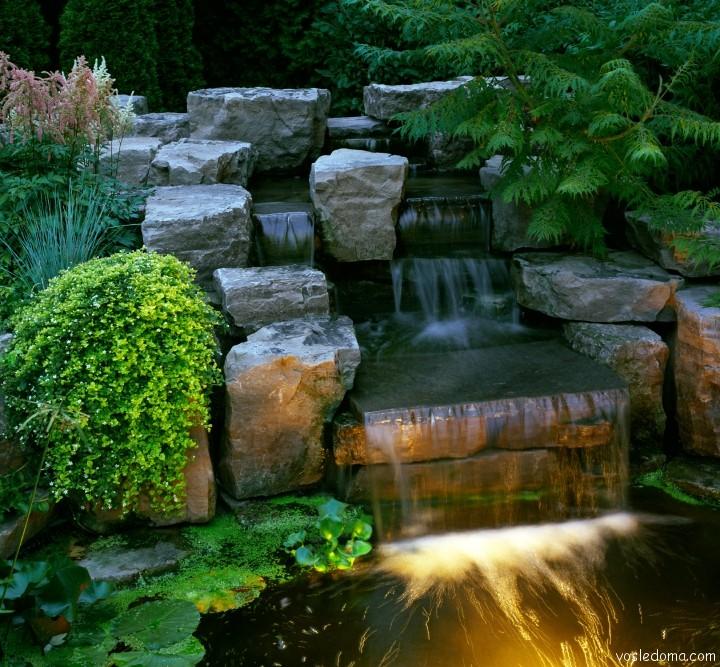 Ландшафтный дизайн водопады фотогалерея