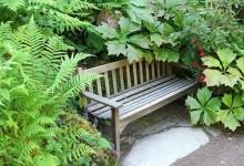 Скамейки для сада, фотогалерея