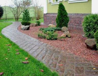 Как сделать свой сад красивым или делаем дорожки на даче