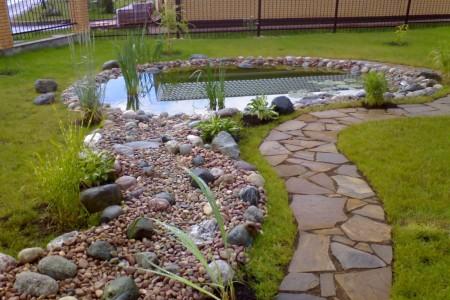Как сделать свой сад красивым или делаем дорожки и тропинки на даче