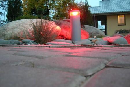 Использование автономных светильников в ландшафтном благоустройстве
