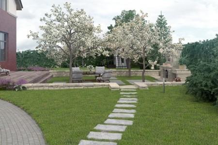 Садовые дорожки: создание и правильный уход