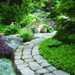 Сказочные тропинки, 34 варианта офоромления садовых дорожек