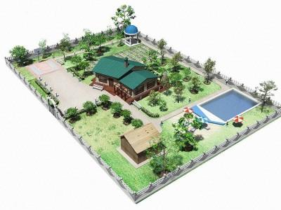 Проект загородного участка – многогранная и детальная разработка
