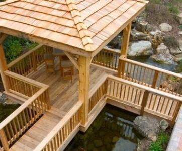 Четыре идеи для обустройства зоны отдыха возле водоема