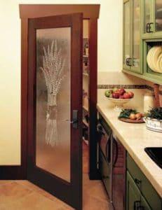 дверь пшеница рисунок